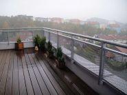 Zábradlí tahokov terasa 2 - Liberec