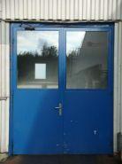 Vstupní dveře - Delphi (sklad vodičů)