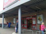Konstrukce přídtřešku vchodu - Kaufland Liberec 1