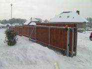 Brána + plot RD Horní Libchava