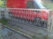 Brána + plot RD Skalice u ČL