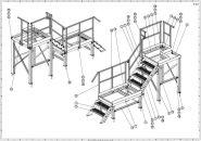 Obslužná plošina - výroba 3