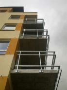 Balkónové zábradlí - bytový dům LBC 1