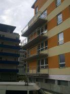 Balkónové zábradlí - bytový dům LBC 2
