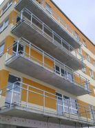 Balkónové zábradlí - bytový dům LBC 3