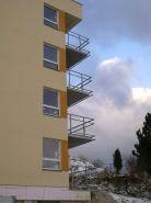 Balkónové zábradlí - bytový dům LBC 4