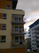 Balkónové zábradlí - bytový dům LBC 5