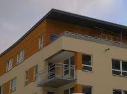 Balkónové zábradlí - bytový dům LBC 6