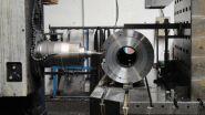 Válec pro svařovací automat (průměr 40 cm, délka 189 cm) - výrobní proces 1