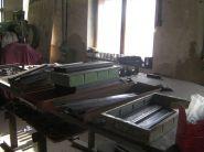 Prezentační stojan - vzorkovníky - proces výroby 1
