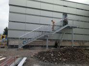 Montáž schodů 1