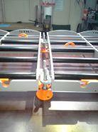 Podstavec - pro 2 trakční baterie - ručně vedené VZV - maly design